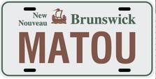 New Brunswick Prov Plate