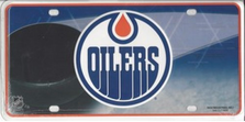 Edmonton Oliers Metal License Plate