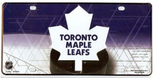 Toronto Maple Leafs Metal License Plate