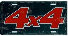 4 x 4 2 Auto Plate
