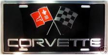 Corvette Auto Plate