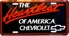 Chev Heartbeat Auto Plate