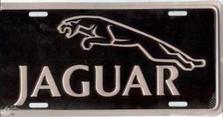 Jaguar Auto Plate