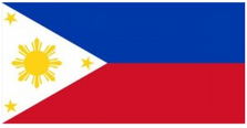 Philippines Flag License Plate LPO868