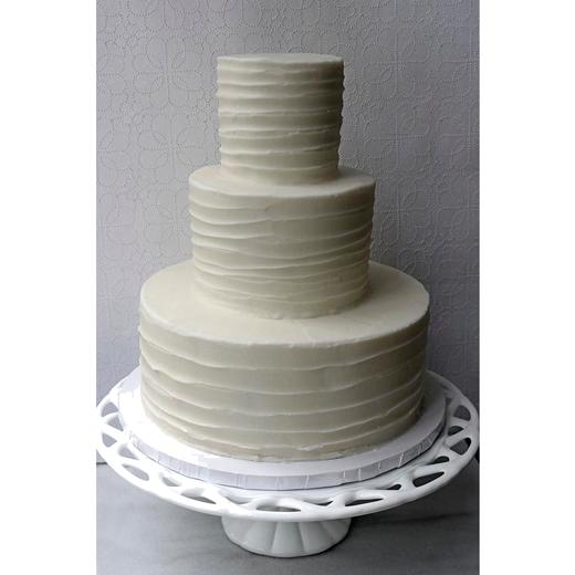 "White Cake ""Rustic"""