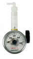 GASCO 72-MFV/CGA600-P Miniflow Valve & Flowmeter with Gauge for 17 & 34 Liter Steel Cylinders