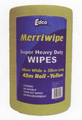 MerriWipe Extra Heavy Duty YELLOW