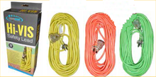hi-vis safety electrical leads
