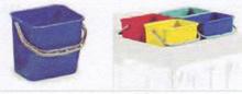4lt Plastic buckets for Top tray of TTS Trolleys