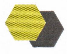 3M Scourer Scotch-brite Dual Hexagon Pot Scrub
