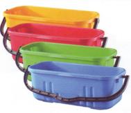 Oates buckets for flat mops & window cleaning
