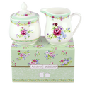 Ashdene Kensington White Sugar & Creamer is great when teamed with Teapot and Cup and Saucer set for an overall English style traditional look.