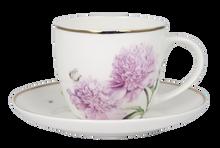 Ashdene Pink Peonies Tea and Saucer