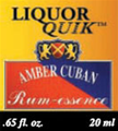 Amber Cuban Rum Essence
