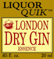 Liquor Quik London Dry Gin Essence (500ml Bottle )