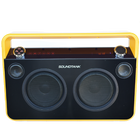 SOUNDTANK Portable Bluetooth Boombox - Matte Yellow