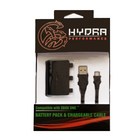 Xbox One Battery Pack & Rechargeable Cable (Hydra) - Black