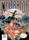 Infiltrator - NES (cartridge only)