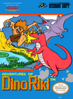 Adventures Of Dino-Riki - NES (cartridge only)