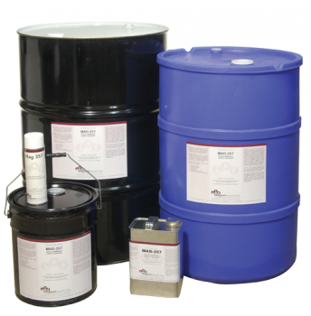 Mag 357 is a non-flammable safety solvent cleaner/degreaser – for use on running machinery.