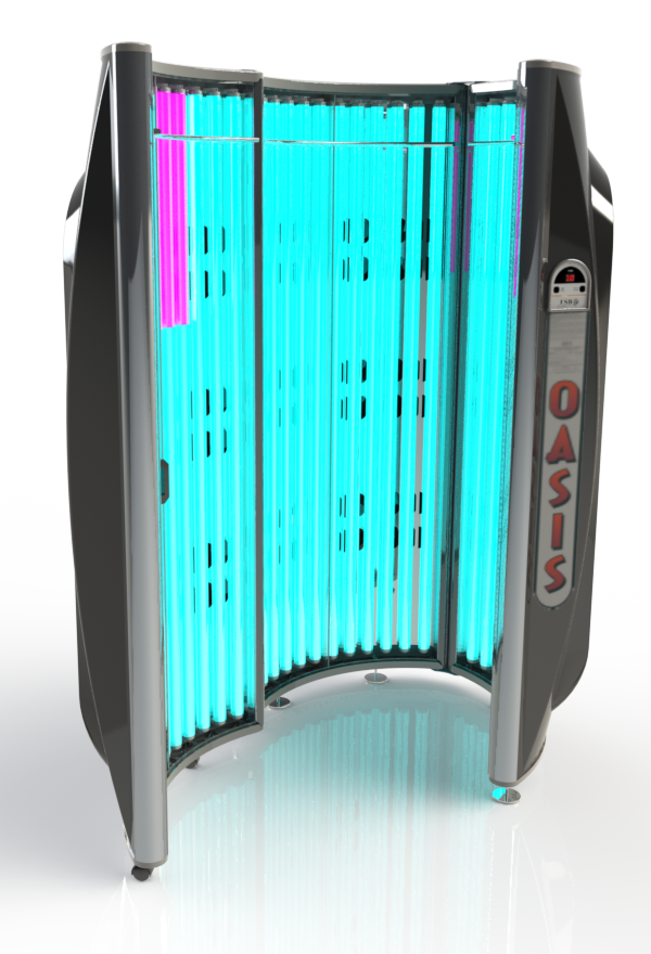 Oasis Tanning Bed Stand Up