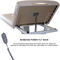Custom Craftworks Mckenzie Lift Back Electric Massage Table-powerlift