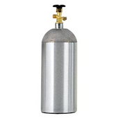 5 lb Aluminum CO2 Cylinder (empty)