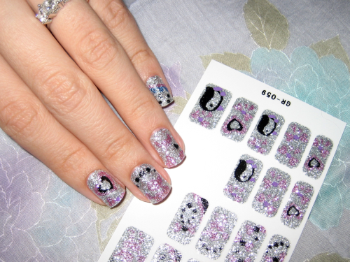 Glitter Nail Stickers How-To Tutorial