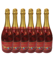 Perugina Holiday Selection Champagne Bottles 7 oz (Case of 6)