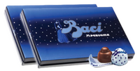 Perugina Baci Dark Chocolate (21pc) 10.5oz - 2 GIFT BOXES!