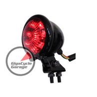 Black Bates Style 2-1/4 Chopper Tail Lamp