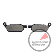 Kevlar Rear Brake Pads for Softail and Dyna 2008-up