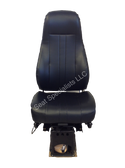 National Captain Seat Black Vinyl