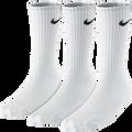 Nike Cotton 3 Pack Socks Crew - White