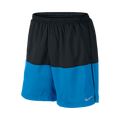 "Nike 7"" Running Short Black/Blue"