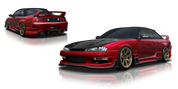 Origin Lab Racing Line Full Body Kit for Silvia S14 / Nissan 240SX 97-98 (Kouki)