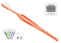Paro M27L Medium 3-Row Toothbrush with Interspace Brush F - #738