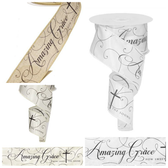 #40 Amazing Grace Wired Ribbon (6 Pc)