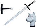 "42"" LARP Battle Ready Foam Sword w/ Fiberglass Core"