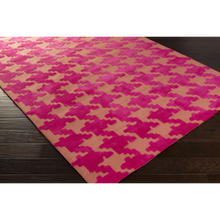 Abigail Rug - Hot Pink, Coral