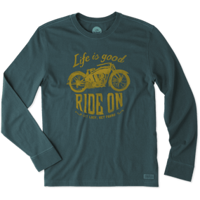 MNS L/S RIDE ON MOTORCYCLE