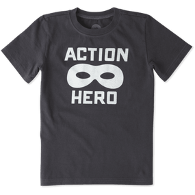 BOYS T ACTION HERO MASK