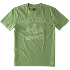 MENS T GET OUT TREES ENG