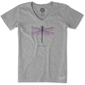 WMNS V ENGRAVED DRAGONFLY