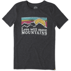 WMNS COOL T MOUNTAINS SUNSET
