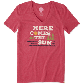 WMNS SS COOL V HERE COMES SUN