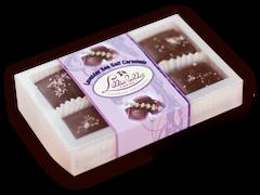 6-piece box Organic Lavender Caramels