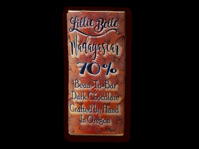 Little Lillie Mini Madagascar 70% Bean to Bar Dark Chocolate