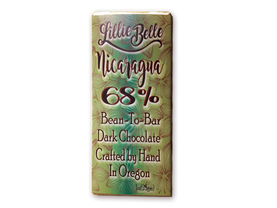 Little Lillie Mini Venezuela 68% Bean to Bar Dark Chocolate