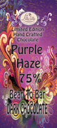 Purple Haze - 75% Bean to Bar Chocolate